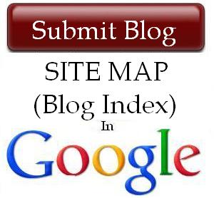 add or submit blog sitemap in google read tips in hindi tech soft info